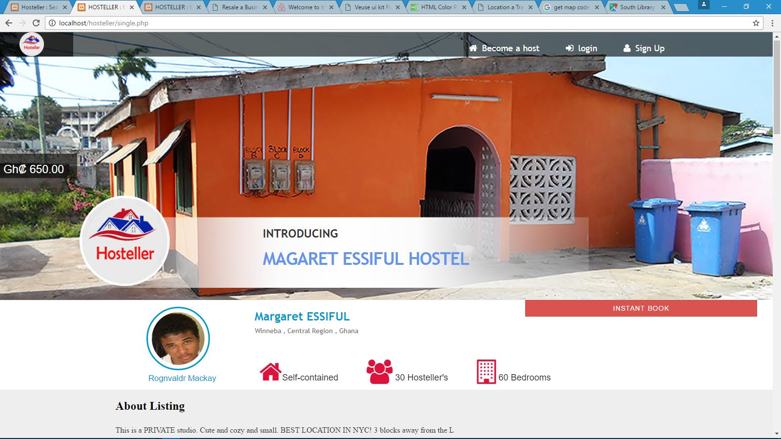 hostel information
