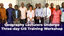 Geography Lecturers Undergo Three-day GIS Training Workshop