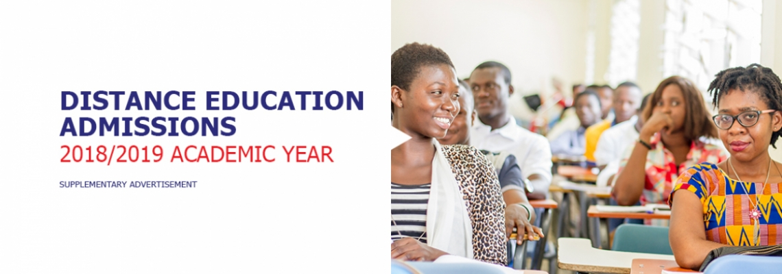 UEW 2018/2019 Distance Education Admissions [Apply Now