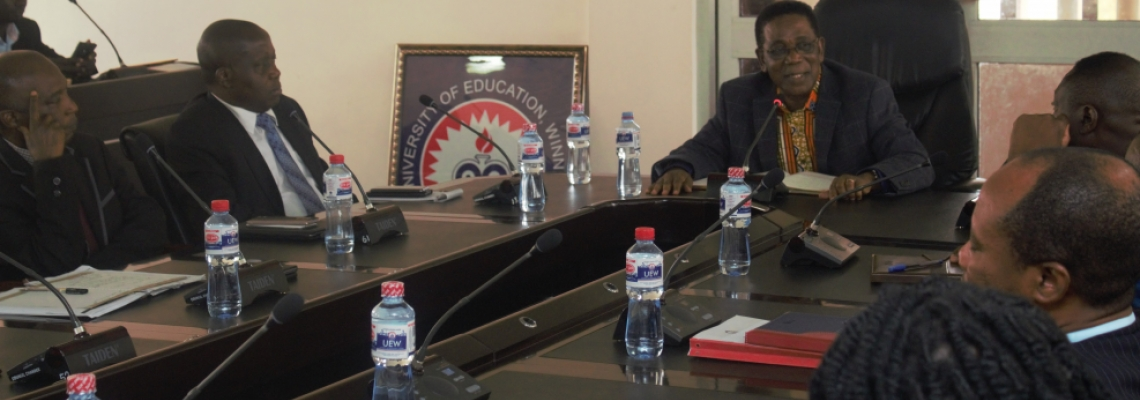 Minster of State Prof. Yankah