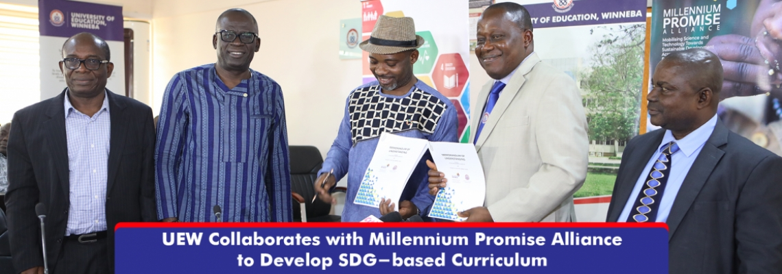 UEW Collaborates with Millennium Promise Alliance to Develop SDG-based Curriculum