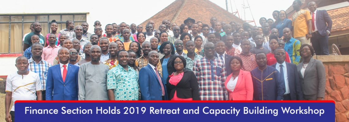 Finance Section Holds 2019 Retreat and Capacity Building Workshop